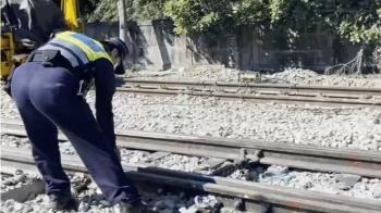 台鐵電力維修車撞飛3工人 台東海端站2死1重傷