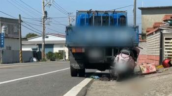 機車追撞貨車2死1重傷 母子天人永隔