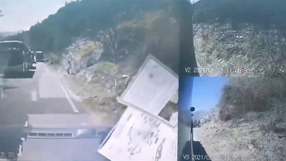 武陵賞櫻衝突!交管人員拿漆彈怒開3槍 遊客車窗慘了