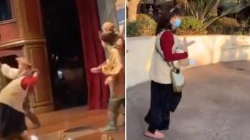 迪士尼劇場演《神鬼奇航》 大媽突掌摑演員「你個美國人的豬」