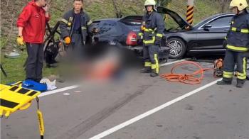 苗栗車禍1家3口剩19歲小媽媽 警初判:酒駕逆向超車害命