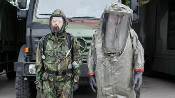 企業捐贈國防部防疫物資 感謝化學兵部隊防疫