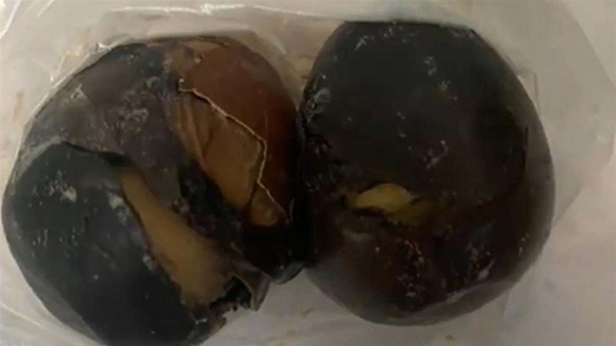 獨/茶葉蛋滷到無殼發黑 網驚:這是鐵蛋吧