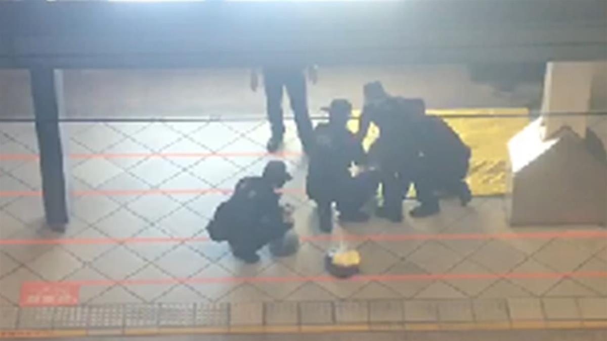 高鐵乘客稱有爆裂物 警方凌晨封鎖月台拆彈