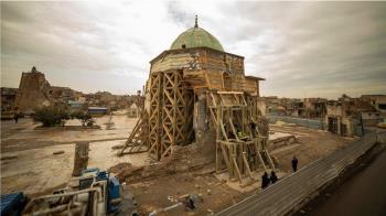 伊拉克努爾大清真寺起死回生,耗資五千萬美元的重建過程危機重重