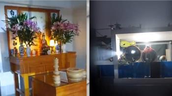 不滿對面鄰居設佛堂 老師夫妻「閃燈裝鏡」反制