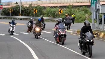 抗議濫設區間測速 破700名「乖寶寶騎士」40km齊聚上北宜