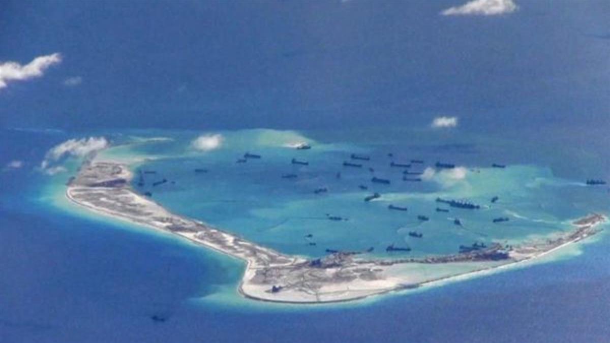 衛星圖片「顯示美濟礁新變化」 中國被指推進「完全軍事基地化」