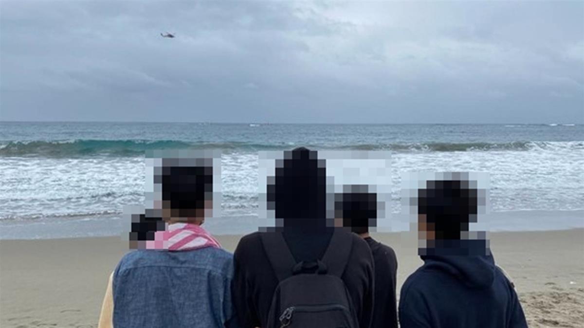 快訊/台東美麗灣失聯1天 17歲少年遺體找到了