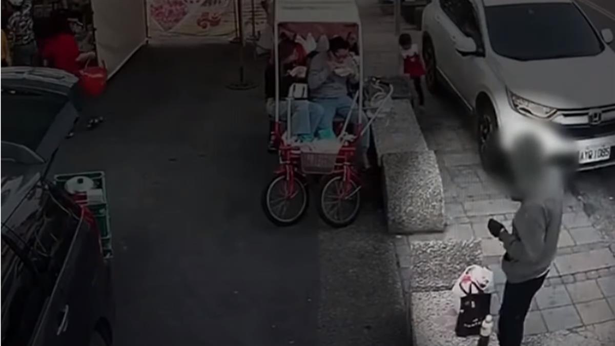 市集攤商「鑰匙未拔、門未鎖」 假遊客真搶車逃逸