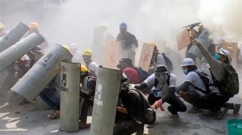 緬甸政變:警方開槍 抗議活動最致命的一天