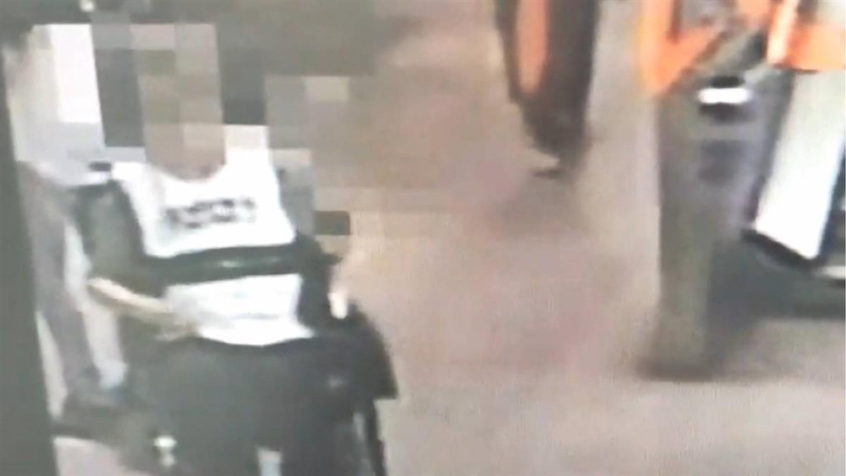 捷運站內相撞 身障男撞傷婦「超速」判有罪