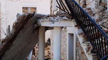 希臘中部6.2強震!百棟建物受損 民眾倉皇逃到戶外
