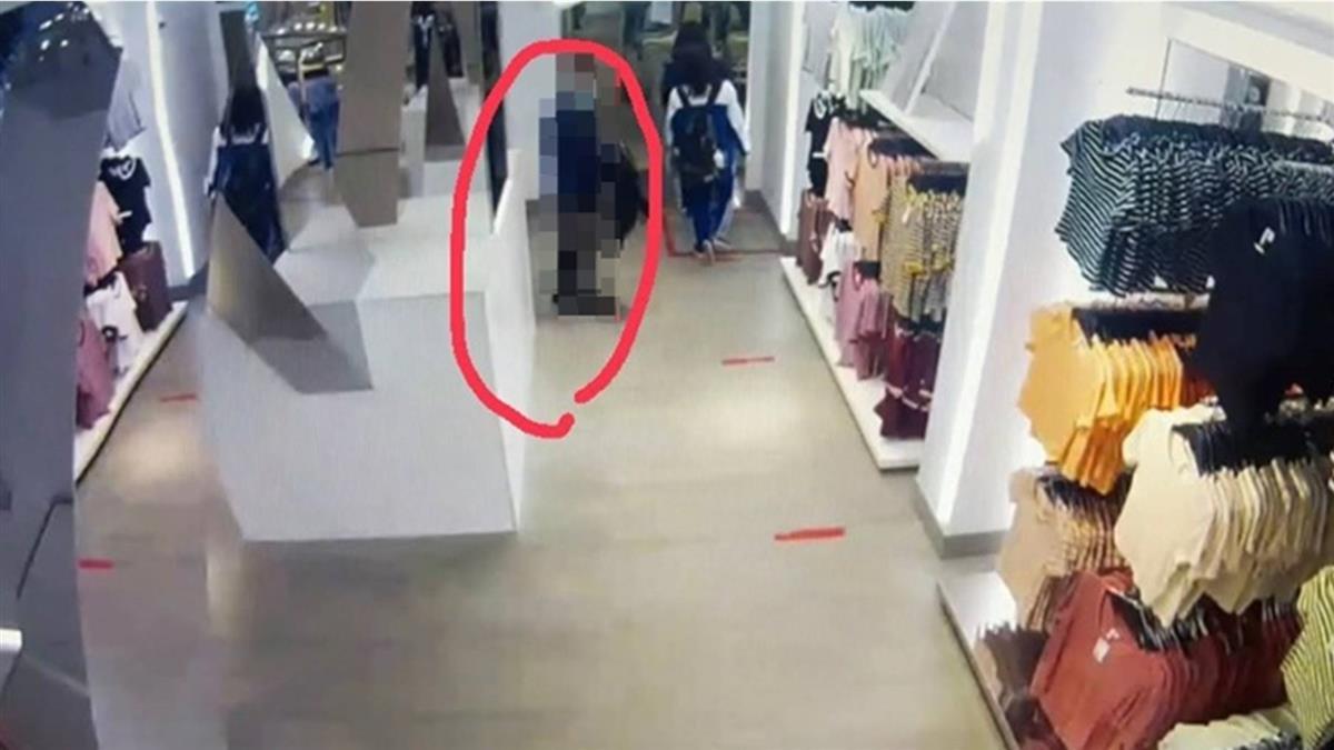 女大生西門H&M遭狼偷窺「手上下磨蹭」 監視器畫面曝光