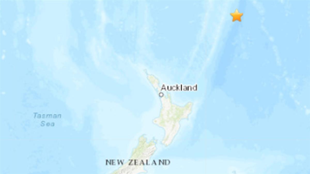 紐西蘭深夜8.1強震 發布海嘯警報「最遠傳到日本」