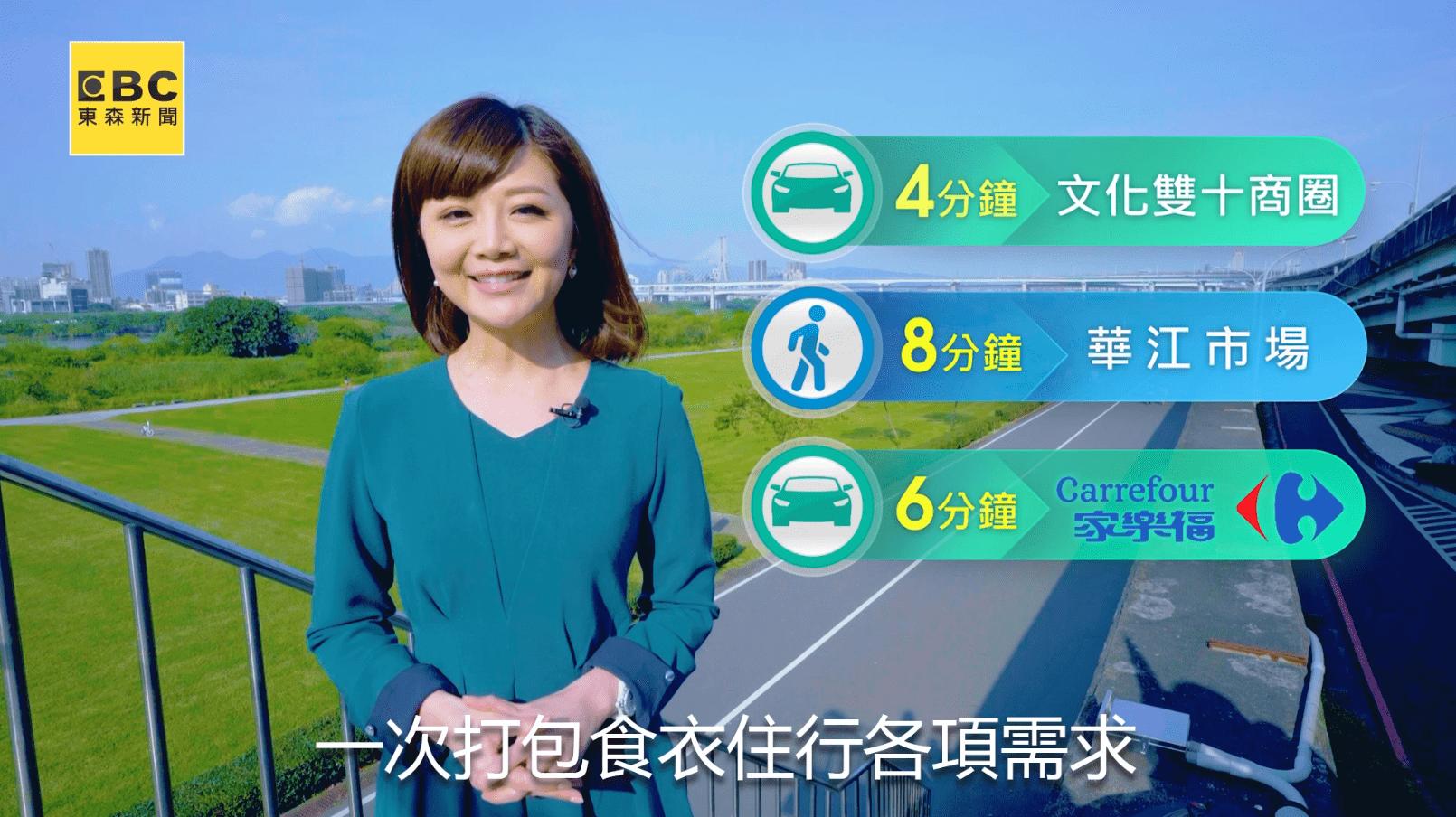 「江南STAR」周遭生活機能齊備