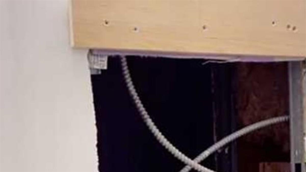寄生上流真實上演?浴室鏡後藏房間 女鑽進去嚇呆:有人住