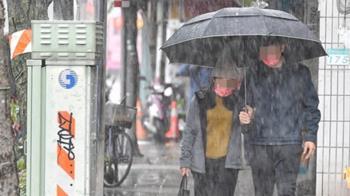 今全台有雨「再冷3天」 見陽光1天又變冷時間點曝