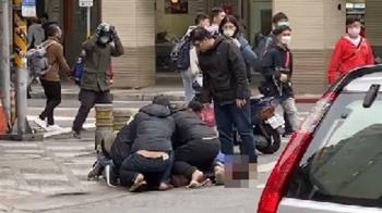 快訊/西門町警匪追逐戰 嫌犯拒捕朝警開槍遭逮