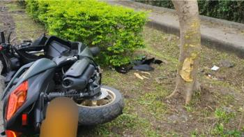 重機騎士太魯閣撞樹亡 騎哈雷載妻撞護欄受傷