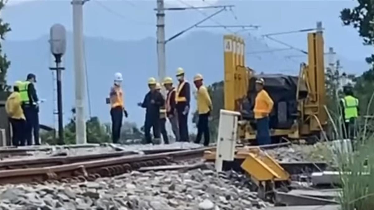 台鐵2死事故調查結果出爐 維修車沒減速釀傷亡