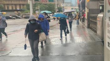 2縣市大雨特報!一周2波東北季風接力來襲 降雨熱區曝