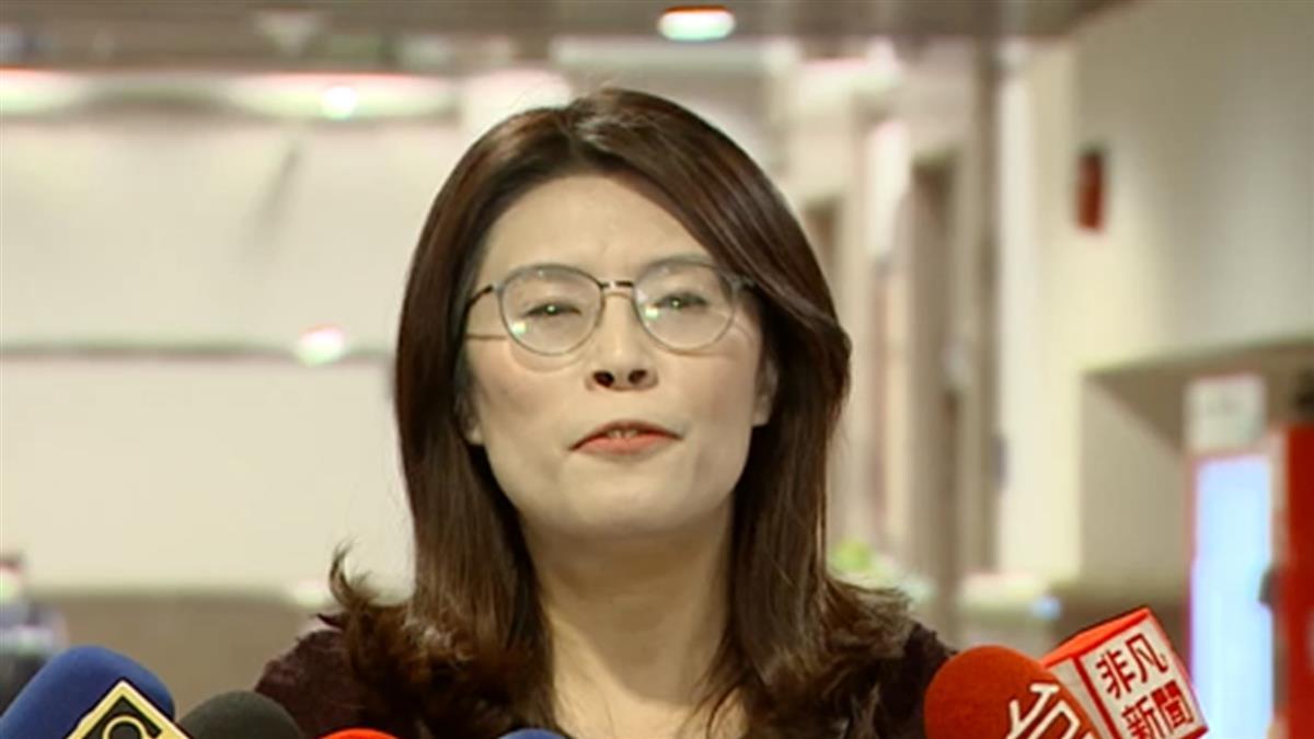 鄭麗文接受慰留任黨團書記長 否認「少康幫」說法