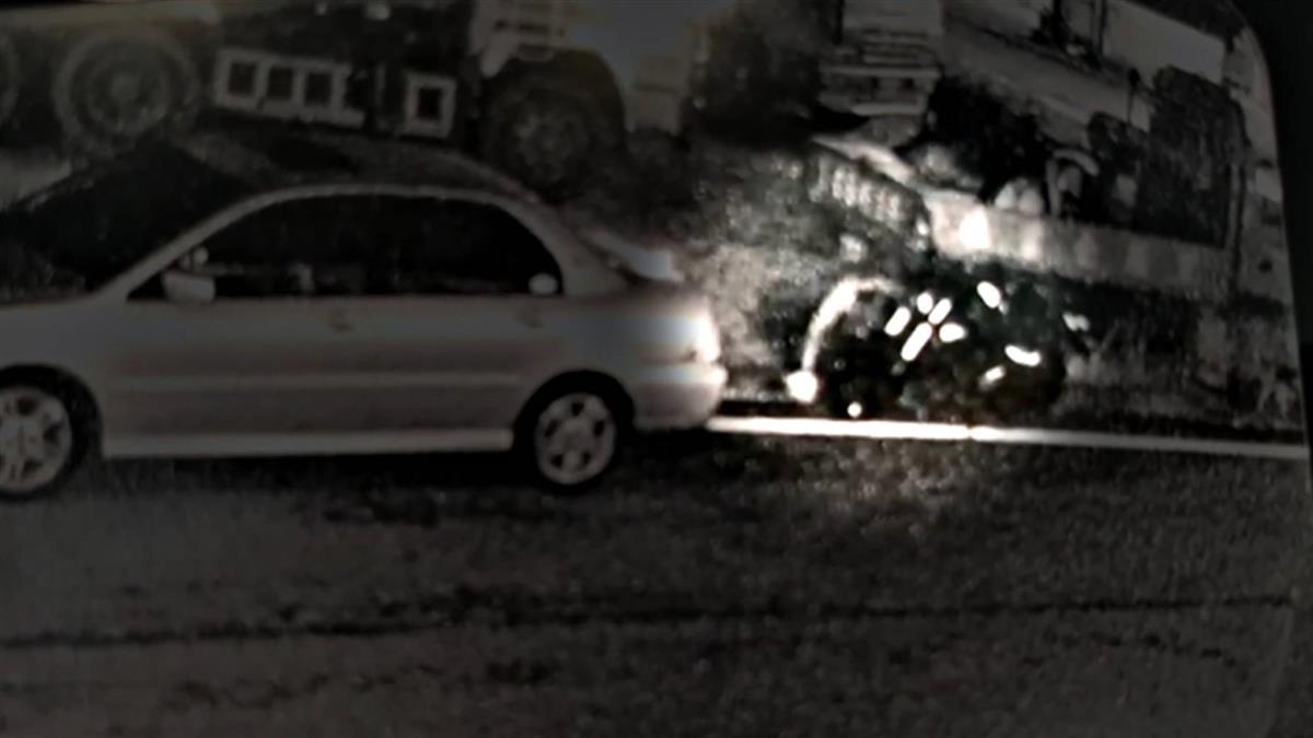 匍匐前進鑽車底 男偷放民眾機車煞車油行徑鬼祟