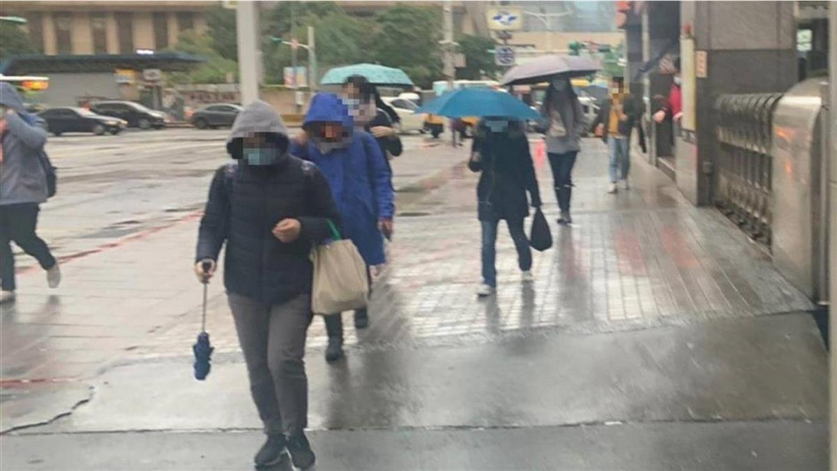 好天氣僅1天!北台灣明起5天有雨 降雨時間曝光