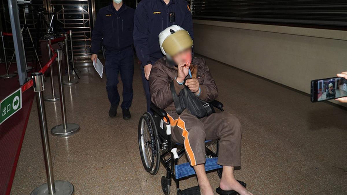 45歲男開奧迪撞文山一分局 檢察官命強制就醫