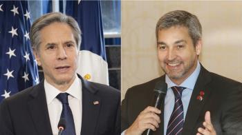 美國務卿與巴拉圭總統通話 籲持續與台灣合作