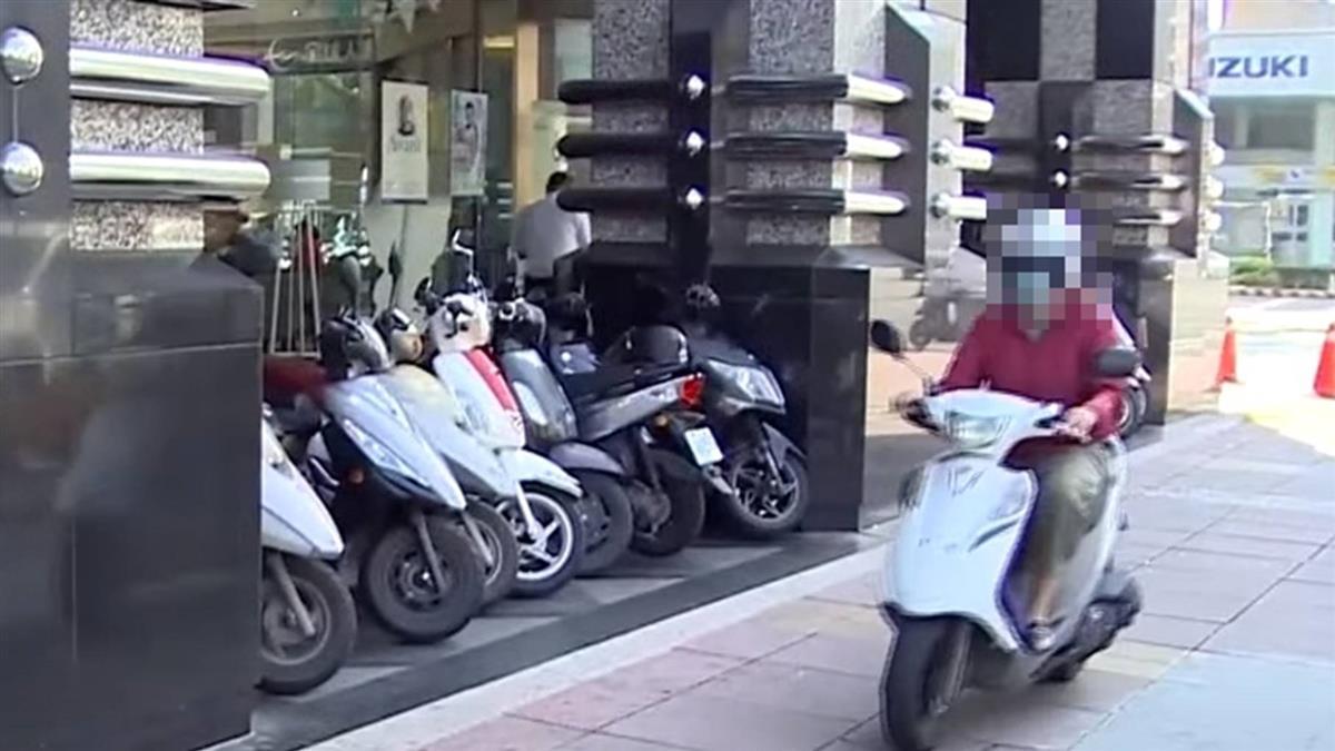 網瘋傳高雄4月起「機車禁停騎樓」 交通局:假消息勿轉傳