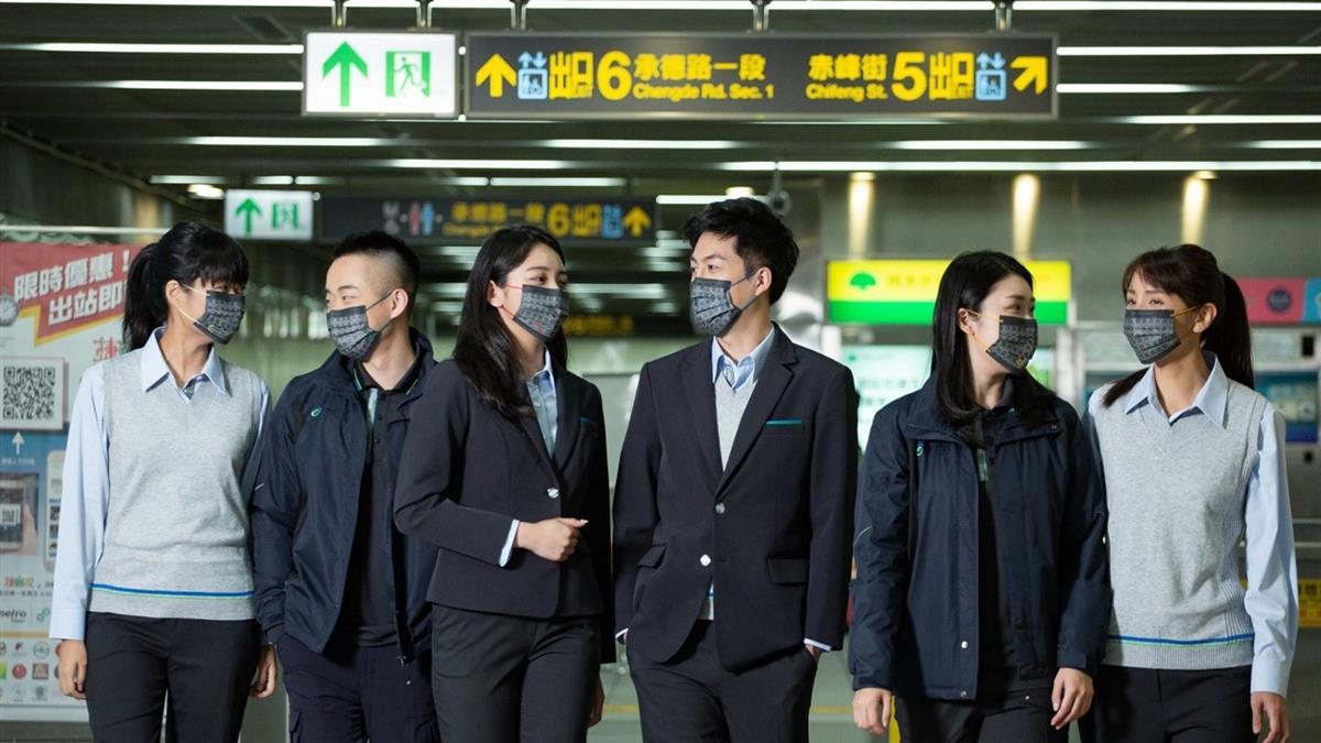 北捷25周年創「罩」時尚 25萬枚紀念口罩這樣拿