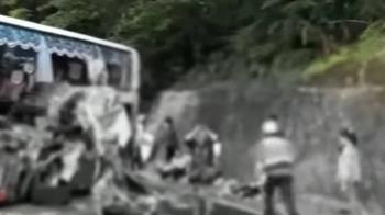 蘇花重大車禍6死39傷 傷者:過彎就感覺要翻車