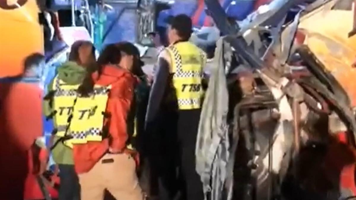 遊覽車自撞山壁 釀6死 傷者憶經過驚魂未定
