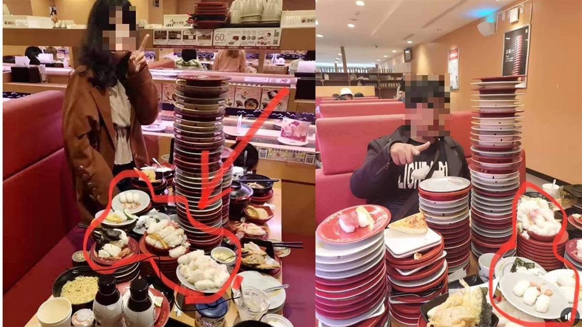 鮭魚奧客狂點100盤壽司 爽PO「醋飯山」遭怒轟:浪費