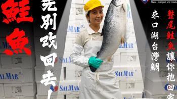 鮭魚們不要衝動!先別急著改回本名 這公司送你「一整尾鮭魚」