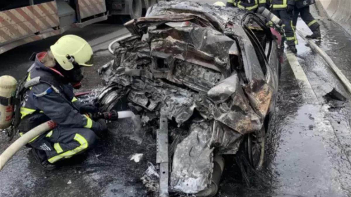尪與1歲兒上月車禍慘死 17歲妹探病「遇火燒車成焦屍」