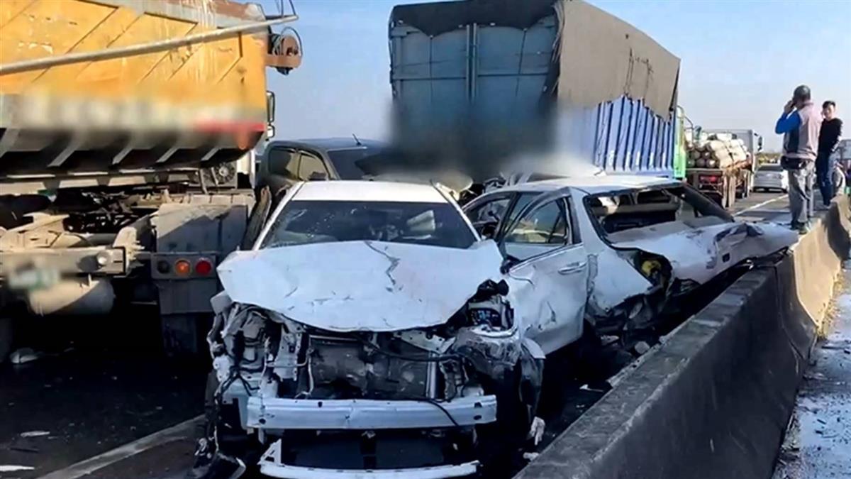 西濱快速道路車禍不斷 被稱「小車地獄」