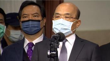 快訊/蘇貞昌明早率先施打AZ疫苗 希望提振民眾信心