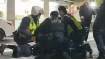 酒客離開KTV互看不順眼 雙方互毆遭警壓制送辦
