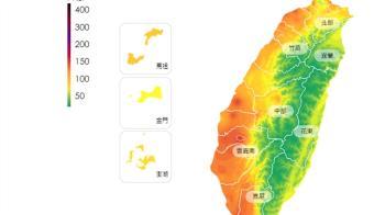 冷空氣挾中國沙塵 22日西半部空氣品質亮紅燈