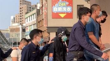 砍傷網紅「超艾夾」犯嫌遭強押毆傷 高雄警逮12人