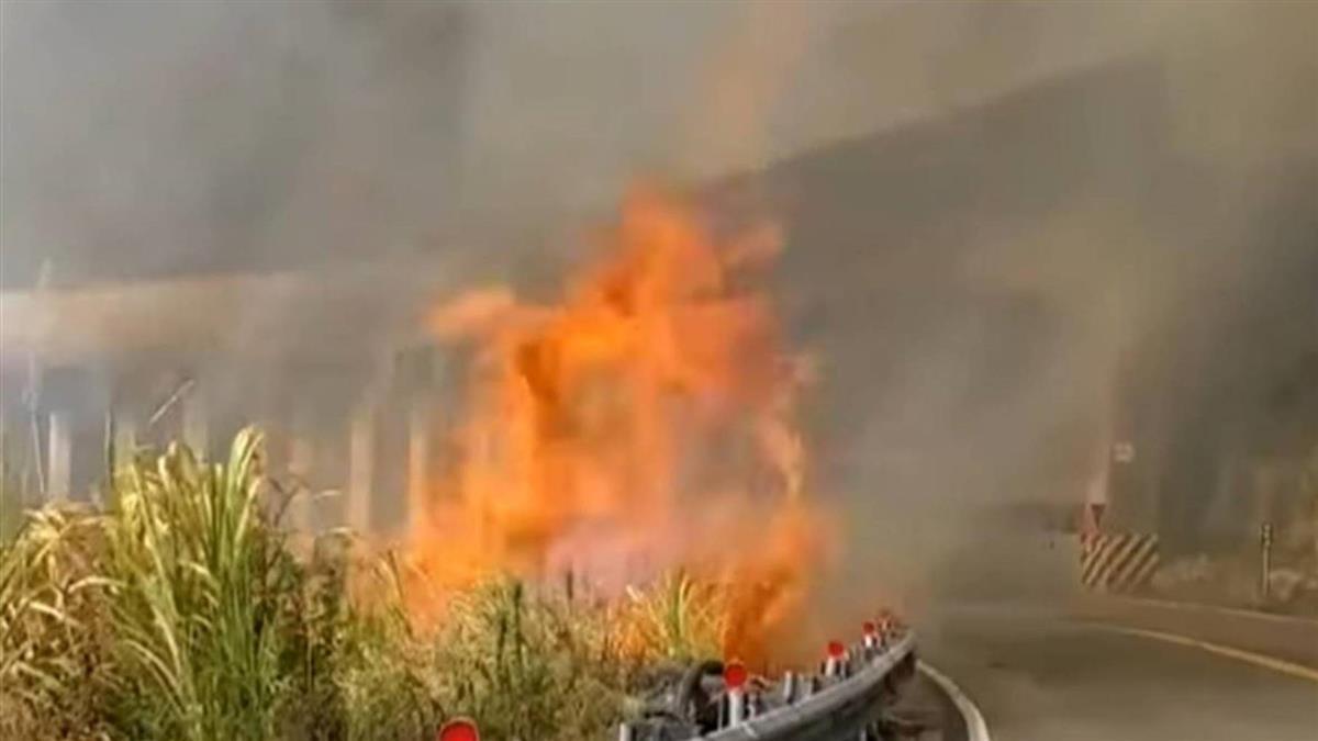 阿里山森林火災未熄 4天出動直升機35架次