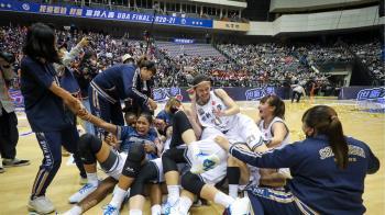 UBA世新女籃隊史首度2連霸 林蝶21分助陣