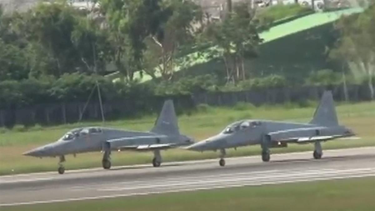 F-5去年10月才折損一飛官 20年內9次失事