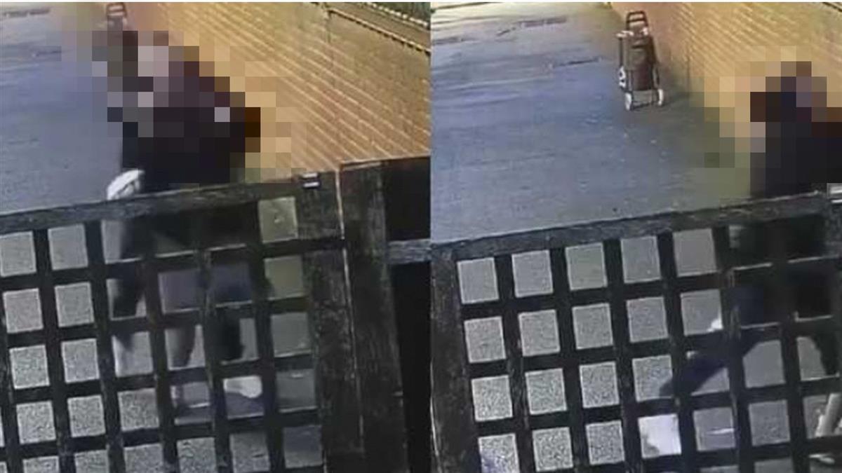 7月孕婦小巷遭爆打 壯男「猛毆肚子」驚悚畫面流出