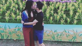 羅尚樺孕妻深夜PO擁吻照 367字淚憶:你把餘生給了我