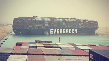 長榮貨輪卡蘇伊士運河 國際油價大幅反彈