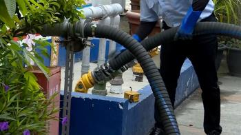 防爆!燃油藏地底下 油品管線、加油機採獨立式